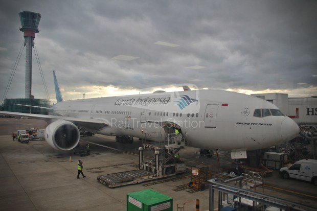 Garuda Indonesia GA86 SIN LHR 25W