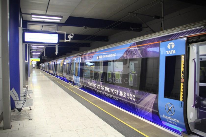 Heathrow Express TfL Rail Terminal 5 Terminal 4 010