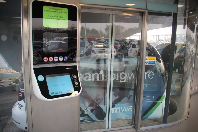 Heathrow Pod Pod Parking Station B Terminal 5 001