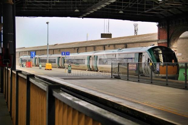 IE Irish Rail 22000 Class InterCity Railcar Exploration 006
