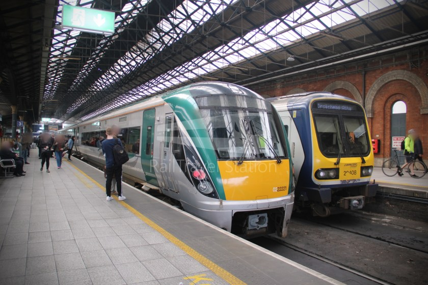IE Irish Rail 22000 Class InterCity Railcar Exploration 007