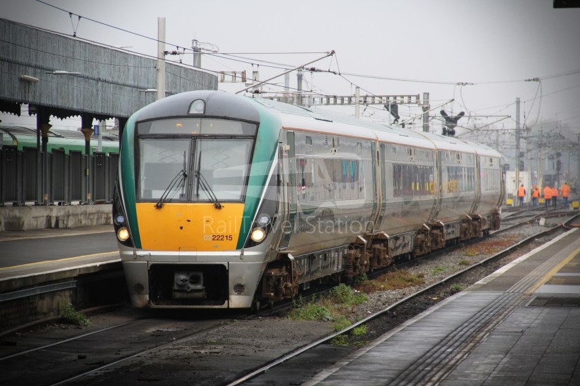 IE Irish Rail 22000 Class InterCity Railcar Exploration 035