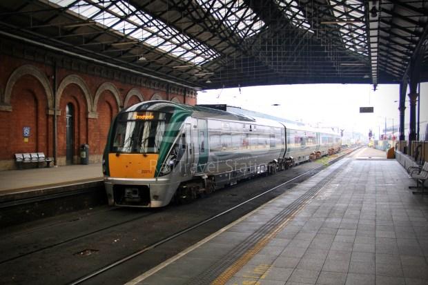 IE Irish Rail 22000 Class InterCity Railcar Exploration 036
