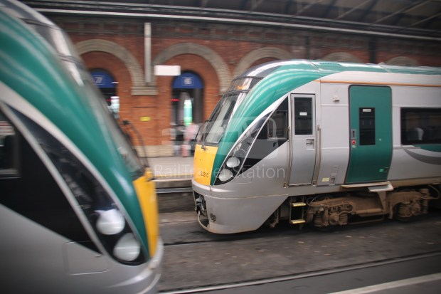 IE Irish Rail 22000 Class InterCity Railcar Exploration 037
