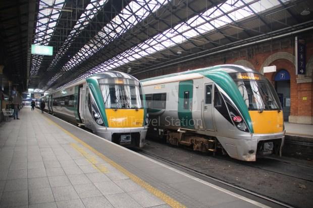 IE Irish Rail 22000 Class InterCity Railcar Exploration 039