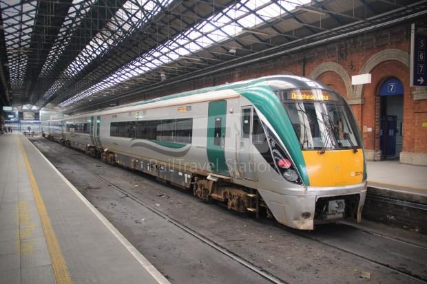 IE Irish Rail 22000 Class InterCity Railcar Exploration 042