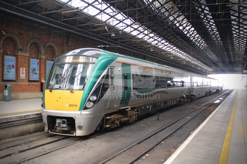 IE Irish Rail 22000 Class InterCity Railcar Exploration 044