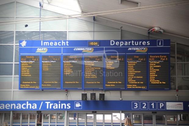 IE Irish Rail 22000 Class InterCity Railcar Exploration 048