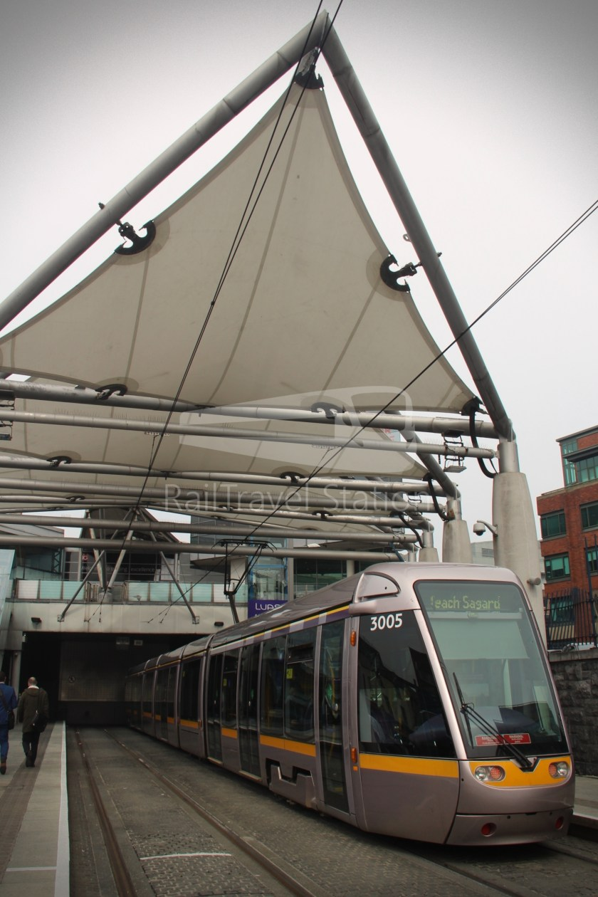 Luas Red Line Connolly Railway Station Heuston Railway Station 007