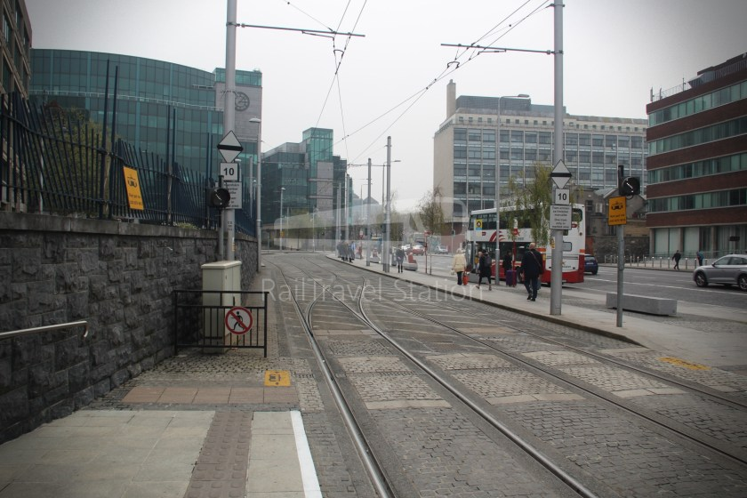 Luas Red Line Connolly Railway Station Heuston Railway Station 008