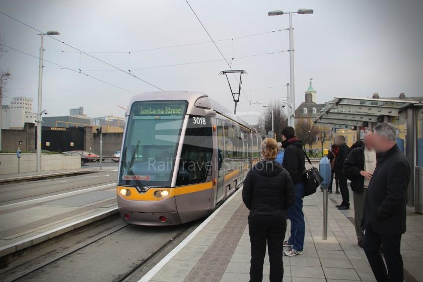 Luas Red Line Heuston Railway Station Smithfield 013