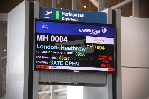 Malaysia Airlines MH4 KUL LHR 010