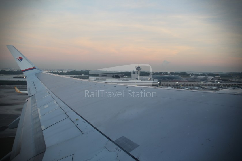 Malaysia Airlines MH602 SIN KUL for LHR 064