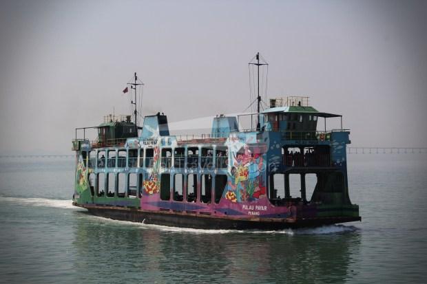Rapid Ferry Georgetown Penang Sentral 010