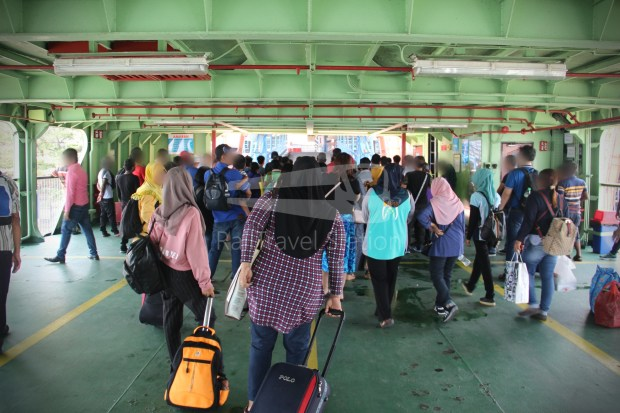 Rapid Ferry Georgetown Penang Sentral 018