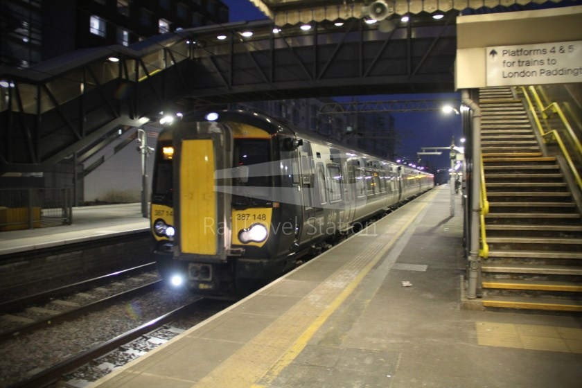 TfL Rail GWR Heathrow Terminal 4 Oxford 021
