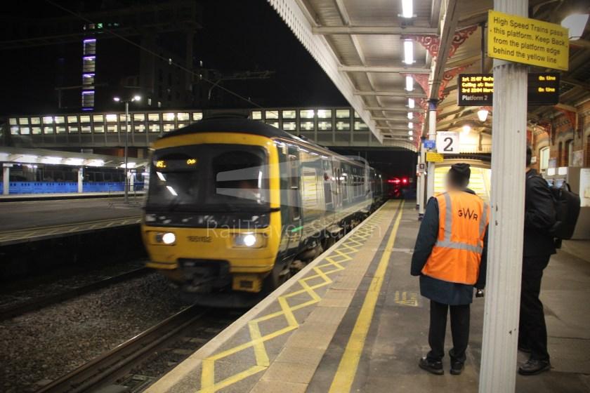 TfL Rail GWR Heathrow Terminal 4 Oxford 039