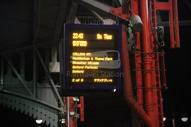 Chiltern Railways London Marylebone Oxford 022
