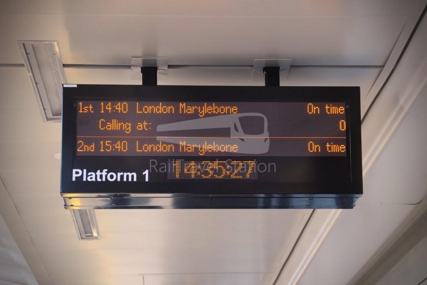 Chiltern Railways Oxford London Marylebone 009