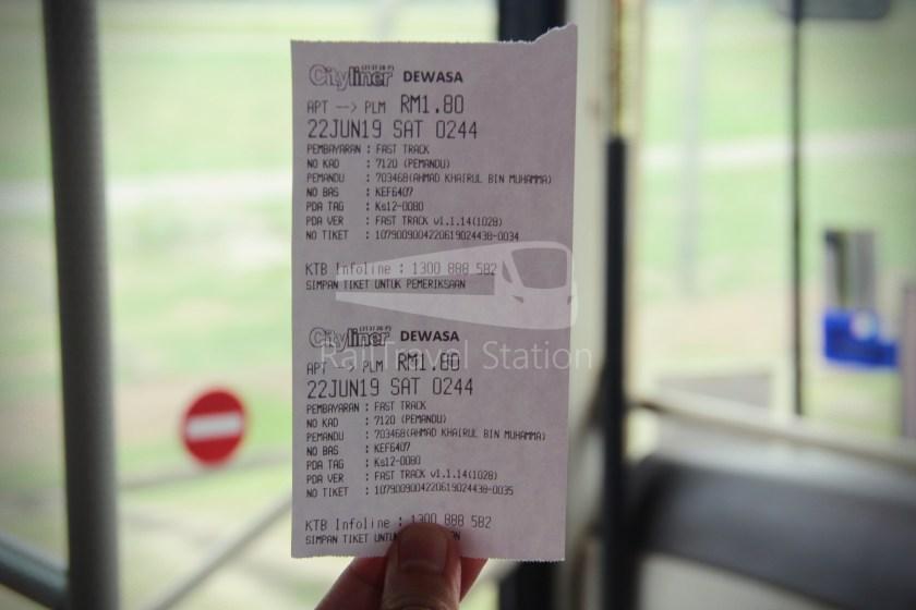 Cityliner Service 9 Airport Kota Bharu 010