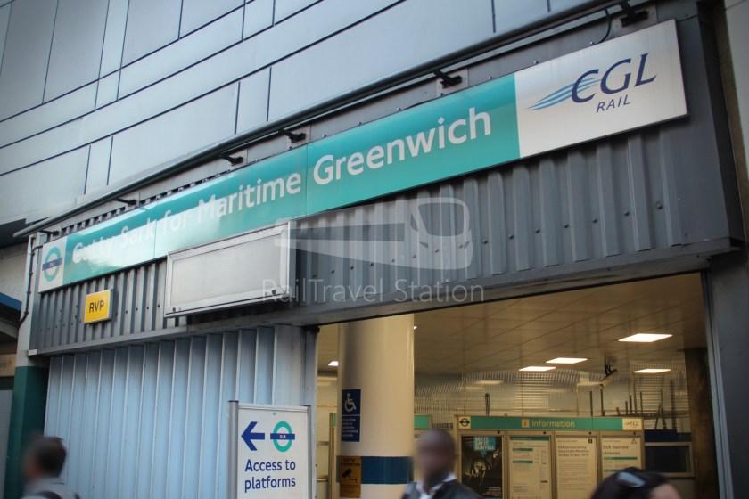 DLR Canary Wharf Cutty Sark for Maritime Greenwich 019