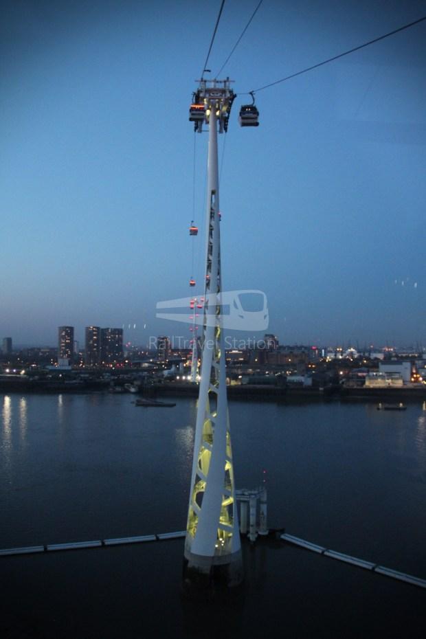 Emirates Air Line Emirates Greenwich Peninsula Emirates Royal Docks Sunset 024