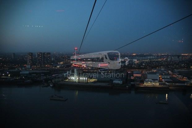 Emirates Air Line Emirates Greenwich Peninsula Emirates Royal Docks Sunset 027
