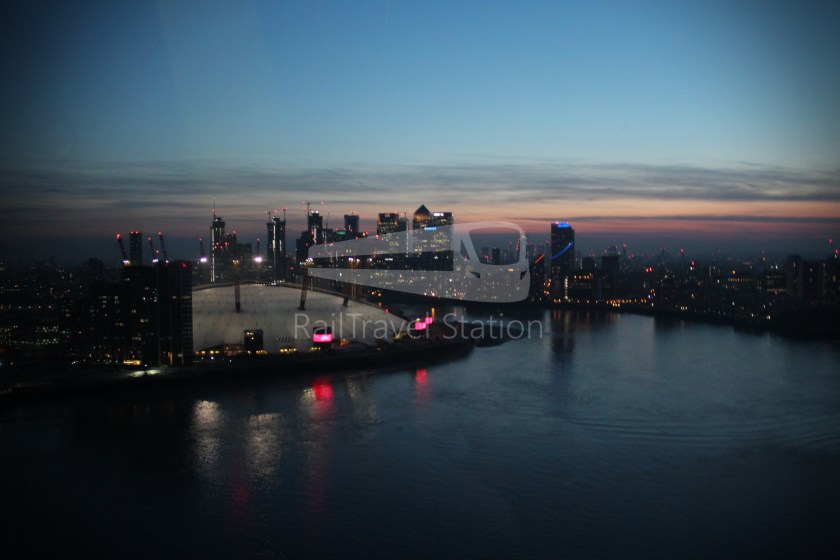 Emirates Air Line Emirates Greenwich Peninsula Emirates Royal Docks Sunset 031