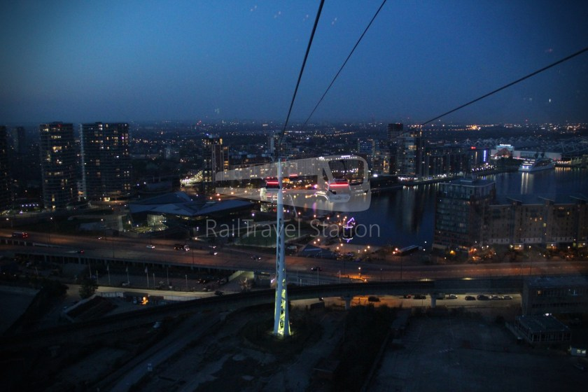 Emirates Air Line Emirates Greenwich Peninsula Emirates Royal Docks Sunset 032
