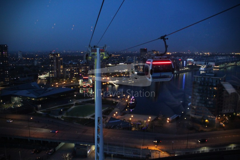 Emirates Air Line Emirates Greenwich Peninsula Emirates Royal Docks Sunset 033