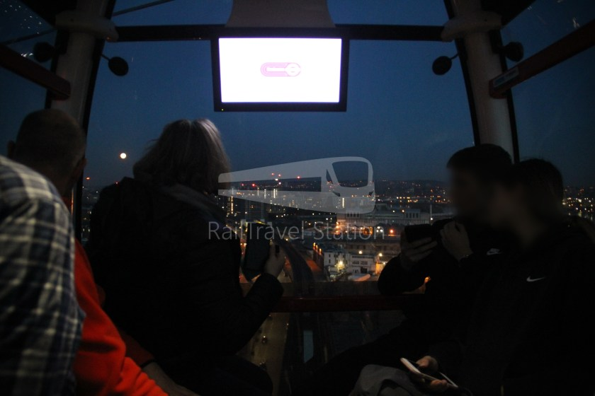Emirates Air Line Emirates Greenwich Peninsula Emirates Royal Docks Sunset 035