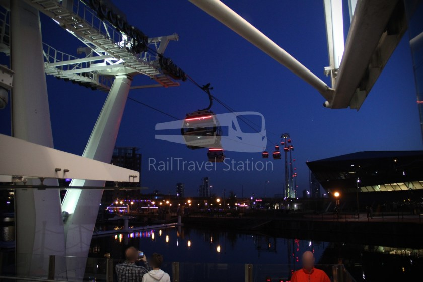 Emirates Air Line Emirates Greenwich Peninsula Emirates Royal Docks Sunset 044