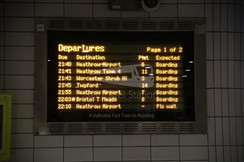 GWR London Paddington Oxford 006