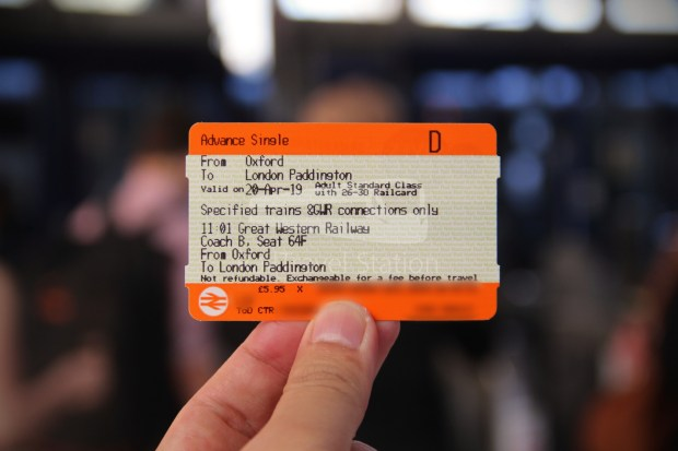 GWR Oxford London Paddington Advance Single 006
