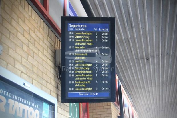 GWR Oxford London Paddington Advance Single 011