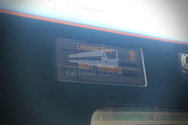 GWR Oxford London Paddington Advance Single 015