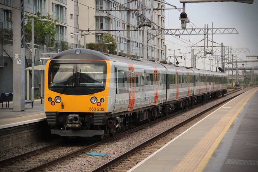 GWR TfL Rail Oxford Heathrow Terminal 4 031