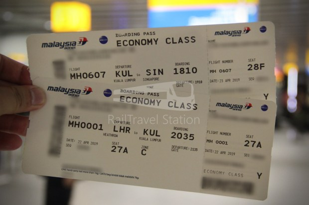 Malaysia Airlines MH1 LHR KUL 008