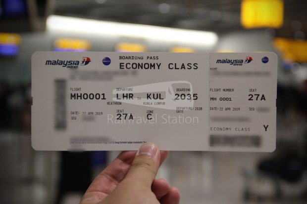 Malaysia Airlines MH1 LHR KUL 009