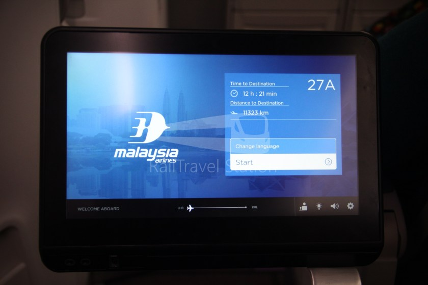 Malaysia Airlines MH1 LHR KUL 145