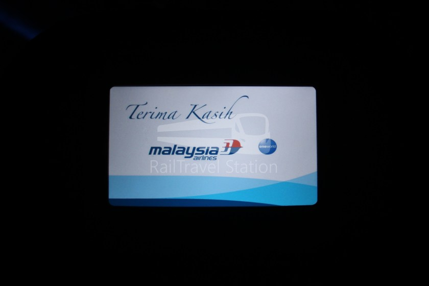 Malaysia Airlines MH607 KUL SIN 061