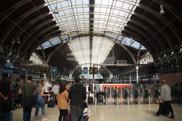 TfL Rail London Paddington Hayes & Harlington 001