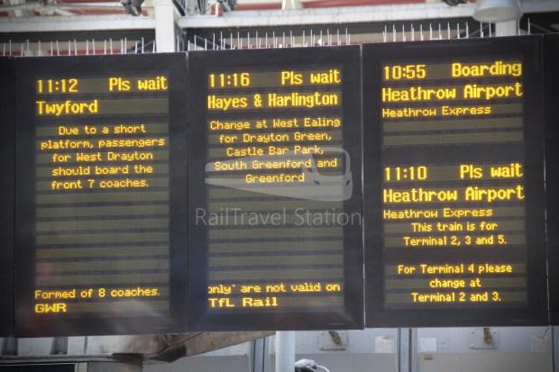 TfL Rail London Paddington Hayes & Harlington 003