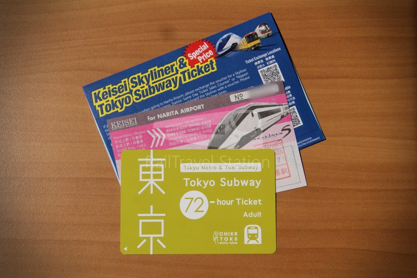 Keisei Skyliner and Tokyo Subway 72-Hour Ticket 005