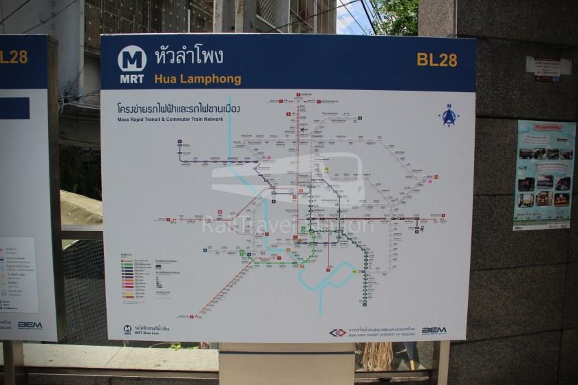 MRT Blue Line Hua Lamphong Tha Phra Extension 005