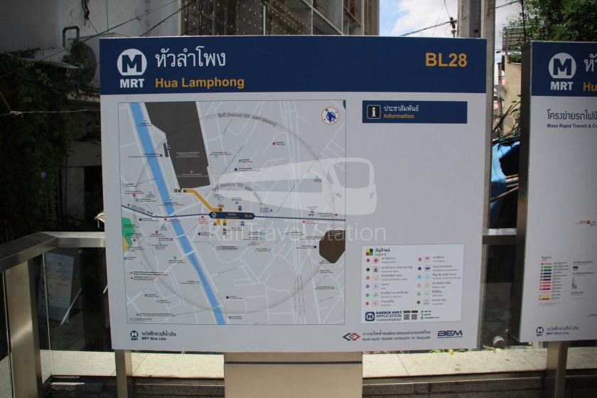MRT Blue Line Hua Lamphong Tha Phra Extension 007