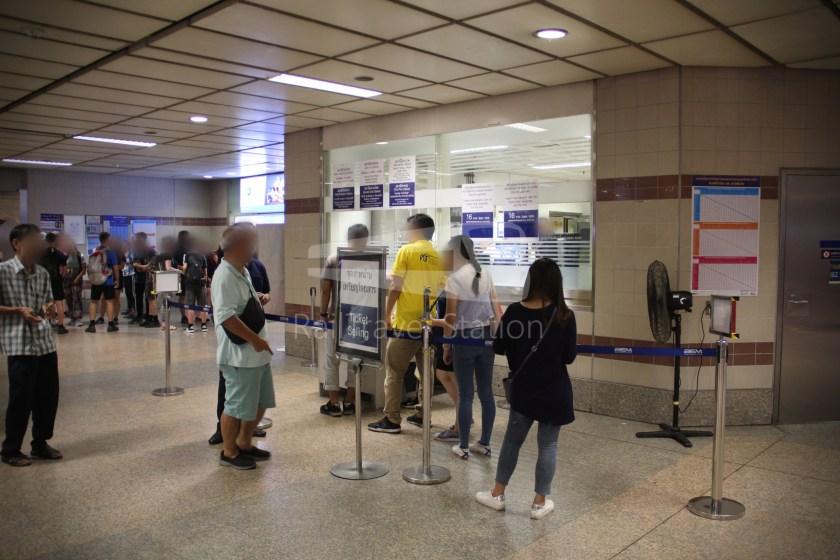 MRT Blue Line Hua Lamphong Tha Phra Extension 009