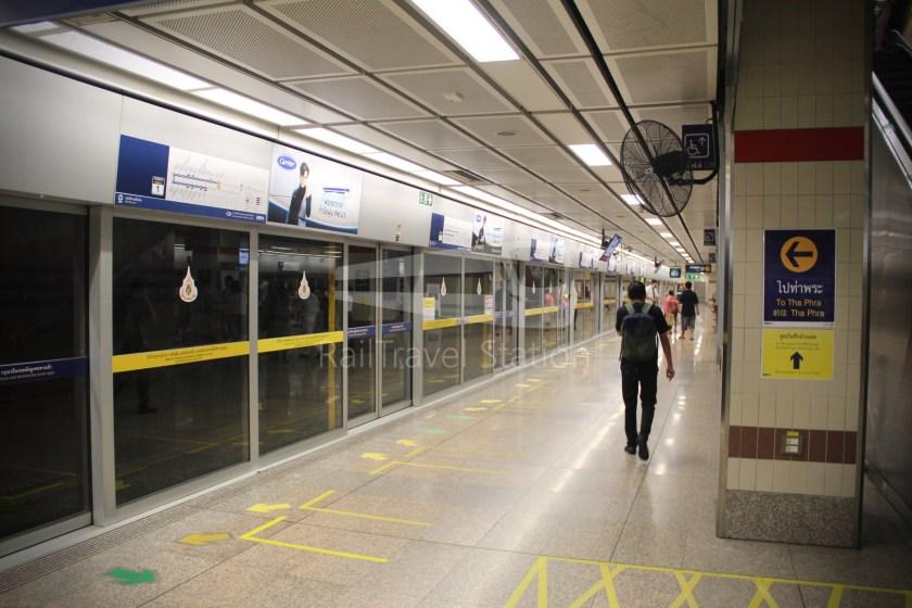 MRT Blue Line Hua Lamphong Tha Phra Extension 016