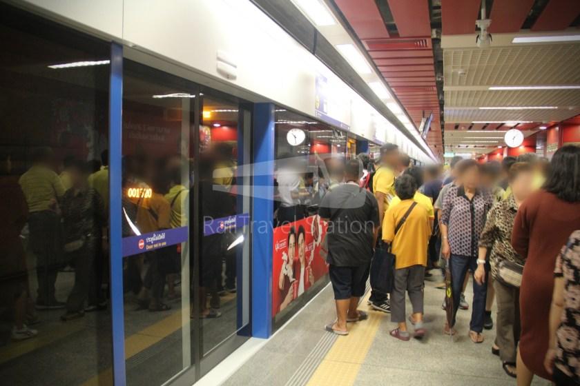 MRT Blue Line Hua Lamphong Tha Phra Extension 028