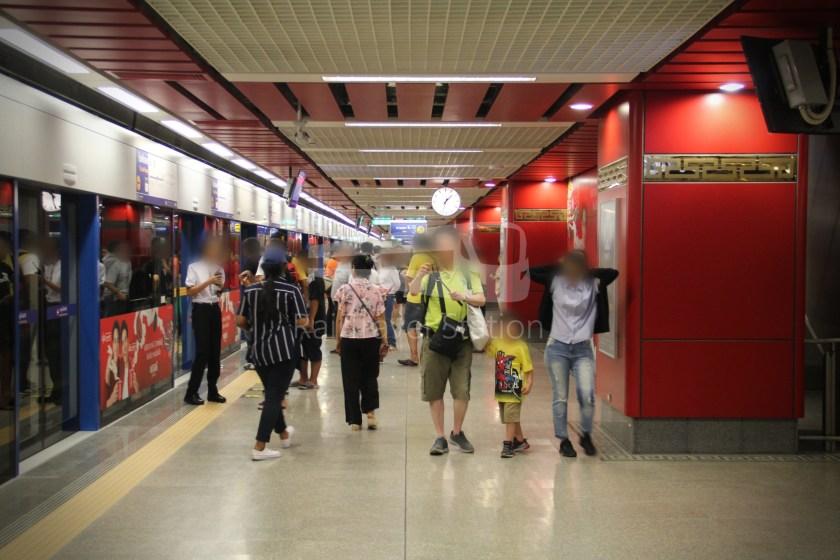 MRT Blue Line Hua Lamphong Tha Phra Extension 032